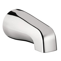 hansgrohe 06500001 Commercial IP Metal Wall Mounted Tubspout in Chrome