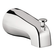 hansgrohe 06501000 IP Wall Mounted Tubspout with Diverter in Chrome