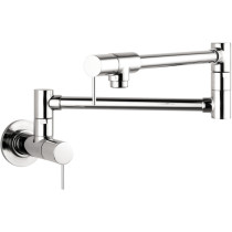 AXOR 10859001 Aerated Spray Wall Mounted Installation Pot Filler in Chrome