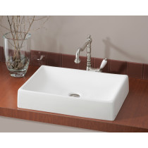 Cheviot 1246 QUATTRO Rectangular Single Bowl Bathroom Vessel Sink