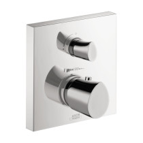 AXOR 12715001 Metal Starck Organic Thermostatic Trim with Volume Control