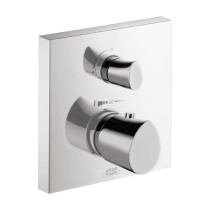 AXOR 12716001 Thermostatic Trim Bath Mixer with Volume Control & Diverter