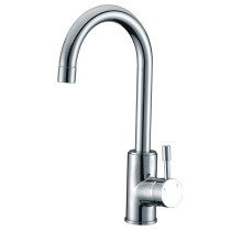 Cadell 2070040 Single Lever Handle Kitchen Faucet with Brass Construction