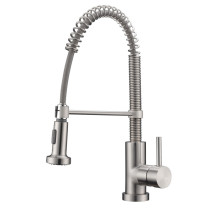 "Cadell 2070079 Pull-Down Single Handle Kitchen Faucet with 5-1/2"" H Spout"
