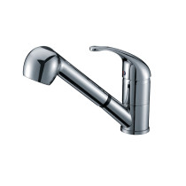 "Cadell 2070127 Single Handle 4.72"" H Spout Kitchen Faucet with Pull Out"