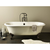 Cheviot 2110-BB-7 Regal Biscuit Cast Iron Claw Foot Bathtub - Model 2111 Shown