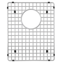 Blanco 224403 Stainless Steel Grid Fits Precision 16 Inch Undermount Sinks and Quatrus 518170