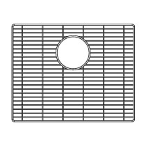 Blanco 231175 Stainless Steel Kitchen Sink Grid Fits Attika 20 Inch Single