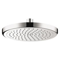 hansgrohe 26465001 Chrome Rain Shower Shower Head with Air-injected Spray