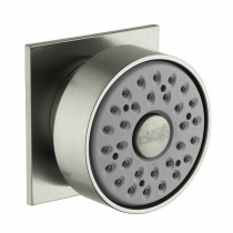 Axor 28469821 Metal Body Spray with Square Escutcheon in Brushed Nickel