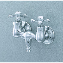 Cheviot 3100 Cross Handles Traditional Filler Tub Spouts and System