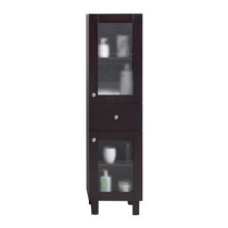Laviva 313YG618-SCB Everest Collection Side Cabinet In Brown