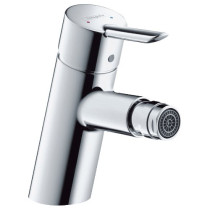 hansgrohe 31721001 Focus S Chrome Single Hole Bidet Faucet with Pop Up