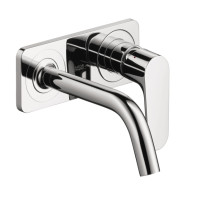 AXOR 34115001 Citterio M Wall-Mount Single Handle With Baseplate in Chrome