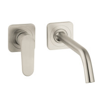 AXOR 34116821 Citterio M Wall Mount Single Handle Faucet in Brushed Nickel