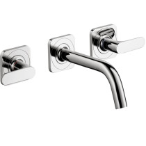 AXOR 34315001 Citterio M Wall Mounted Widespread Faucet in Chrome