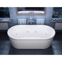 MediTub 3467RD Atlantis Royale Air & Whirlpool Water Jet Tub With Left Pump