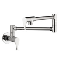 AXOR 39834001 Citterio Wall-Mounted Pot Filler For Kitchen in Chrome