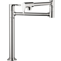 AXOR 39838001 Citterio Deck Mounted Installation Potfiller Stand in Chrome
