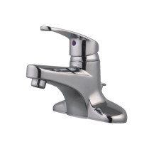 Cadell 41016CP-WD Polished Chrome Centerset Lavatory Faucet with Drain