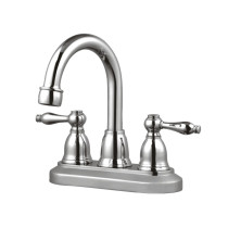 Cadell 41023CP Polished Chrome Centerset Deck Mounted Bathroom Faucet