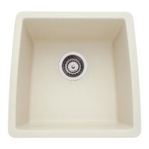 Blanco 440080 Performa™ SILGRANIT Bar Bowl Deck Mounted Kitchen Sink in Biscuit