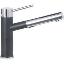 Blanco 441484 Alta Compact Pull-Out Dual Spray in Anthracite/Chrome Mix