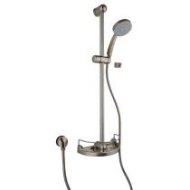 Brushed Nickel LaToscana 50PW124 33'' adjustable Shower w/ 78'' Hose