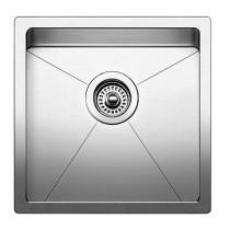 Blanco 519545 Quatrus Stainless Steel R15 Bar Single Bowl Undermount Sink