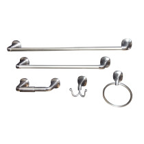 Arista BA5702-5PC-SET-SN Belding 5 Piece Accessory Set In Satin Nickel Finish