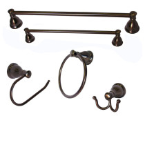 Arista BA5903-5PC-SET-ORB Castilla 5 Piece Accessory Set In Oil Rubbed Bronze Finish