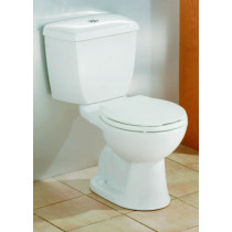 Cheviot 600 DUAL FLUSH Round Front Toilet Available in White and Biscuit