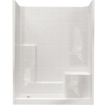 Ella's Bubbles 6032 SH IS 3P 4.0 R-WH STD Standard Shower System