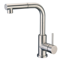Cadell 71200 Kitchen Faucet with Pull-Out Spray in Brushed Stainless Steel