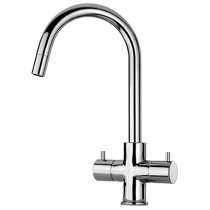 Latoscana 78..491 Elba Two Handle Pull-Down Kitchen Faucet