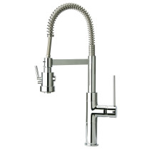 Latoscana 78CR557PHD Elba Single Handle Pull-Out Spray Kitchen Faucet - Chrome