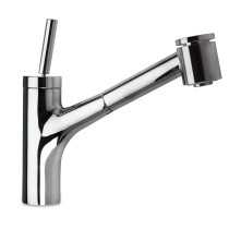 Polished Chrome LaToscana 78CR576JO  Pull Out Faucet w/ Joystic Lever