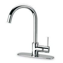 LaToscana 78CR591 Single Hole Pull Down Kitchen Faucet - Shown In Chrome