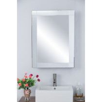 Bellaterra Home 808903 Surface Mount Mirrored Medicine Cabinet