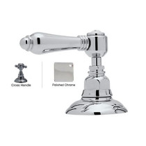Rohl A2716XMAPC Country Bath Metal Cross Handle 2-Direction Diverter in Polished Chrome
