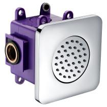 ALFI brand AB3801-PC Polished Chrome Flush Mounted Shower Body Spray