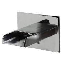ALFI brand AB5901-PC Polished Chrome Wall Mounted Waterfall Bath Tub Filler