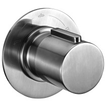 ALFI brand AB9101-BN Brushed Nickel Modern Round 3 Way Shower Diverter