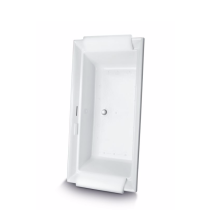 TOTO ABR626S#12D Aimes Drop In Air Bathtub With LED Lighting And Right Blower
