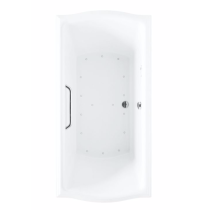 TOTO ABR781S#..N Clayton Rectangular Acrylic Air Bathtub With Right Blower