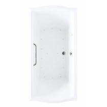 TOTO ABR781T#12Y Sedona Beige Acrylic Drop In Air Bathtub With Left Blower