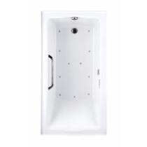 TOTO ABR782L#..N Clayton Acrylic Rectangular Air Bathroom Tub With Left Drain