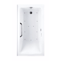 TOTO ABR782L#..N1 Clayton Acrylic Drop In Air Bathroom Tub With Left Drain
