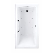 TOTO ABR782L#01Y..1 Clayton Drop In Acrylic Air Tub With Blower And Left Drain