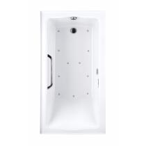 TOTO ABR782L#01YBN2 Clayton Acrylic Drop In Left Drain Air Bathroom Tub With Blower